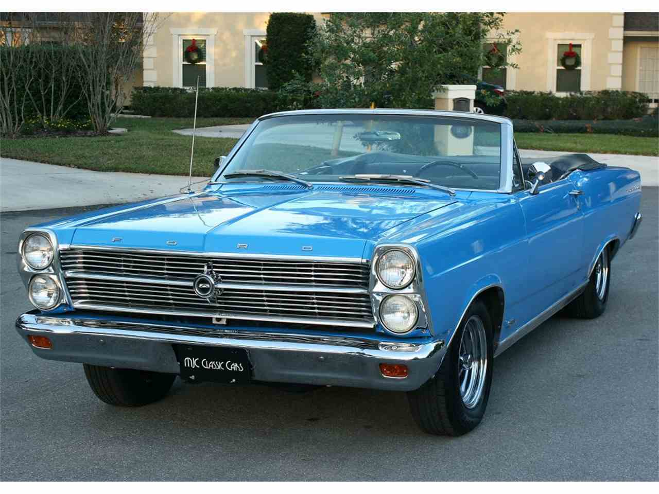 Picture Of Classic 1966 Ford Fairlane Offered By MJC Cars