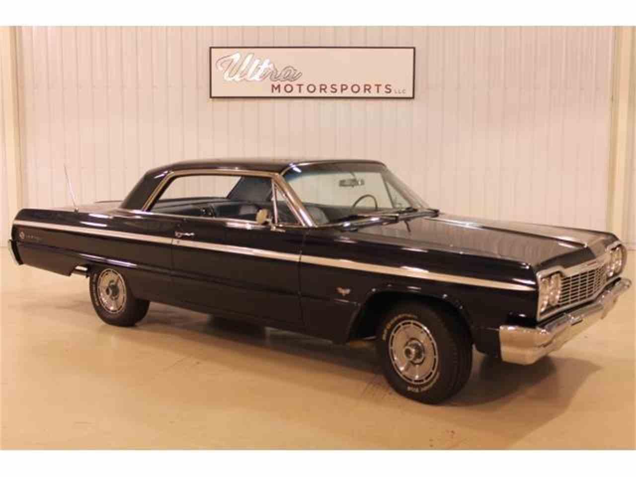 1964 chevrolet impala ss for sale cc 1051978. Black Bedroom Furniture Sets. Home Design Ideas
