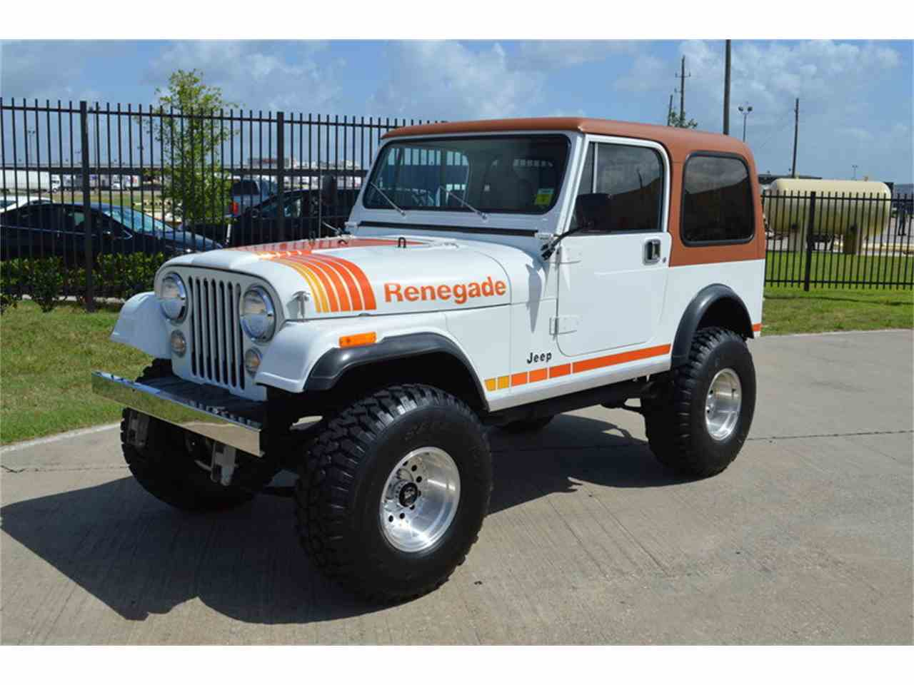 1981 jeep cj7 for sale cc 1052070. Black Bedroom Furniture Sets. Home Design Ideas