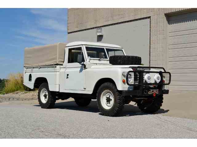 1972 Land Rover Series IIA | 1050212