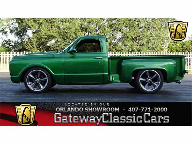 Picture of Classic 1971 Chevrolet C10 located in Lake Mary Florida - $35,995.00 Offered by Gateway Classic Cars - Orlando - MJVG