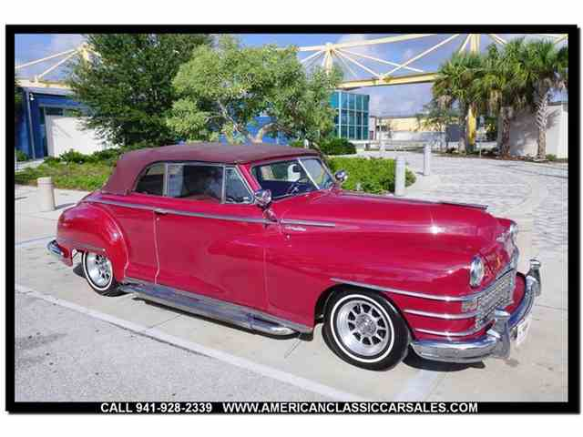 Picture of Classic '48 Chrysler Windsor located in Florida - $27,500.00 Offered by American Classic Car Sales - MJYO