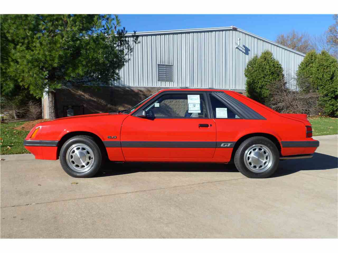1985 ford mustang for sale cc 1050024 for Motor vehicle department scottsdale