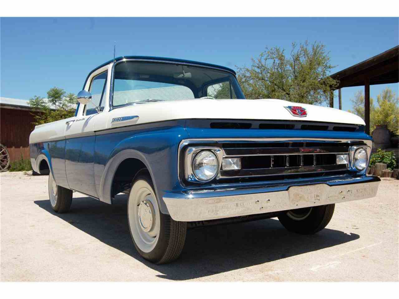 ford f100 1961 unibody pickup scottsdale cc 61 arizona listing vehicles similar bed short classiccars