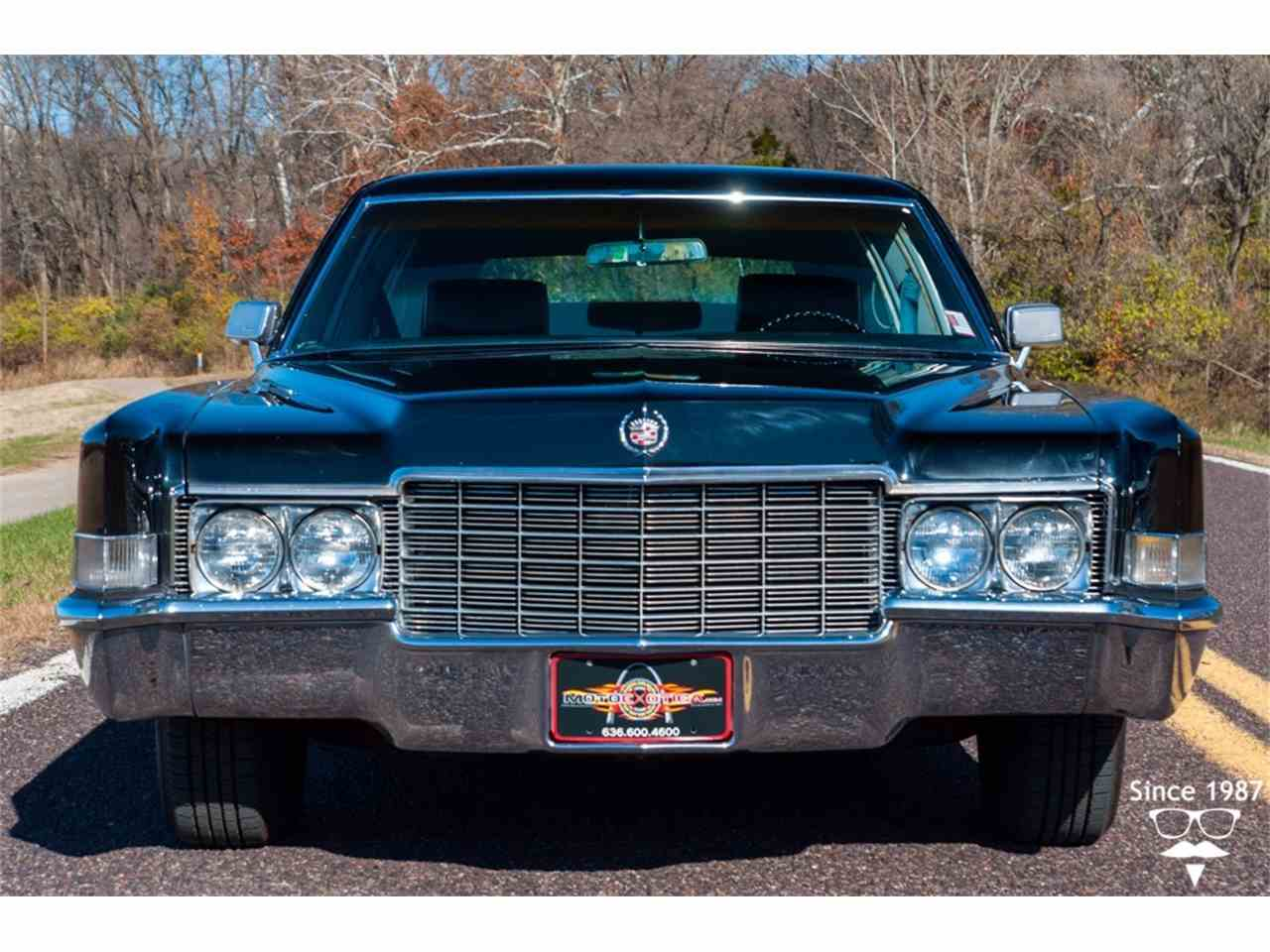 1969 Cadillac Fleetwood Limousine For Sale Classiccars