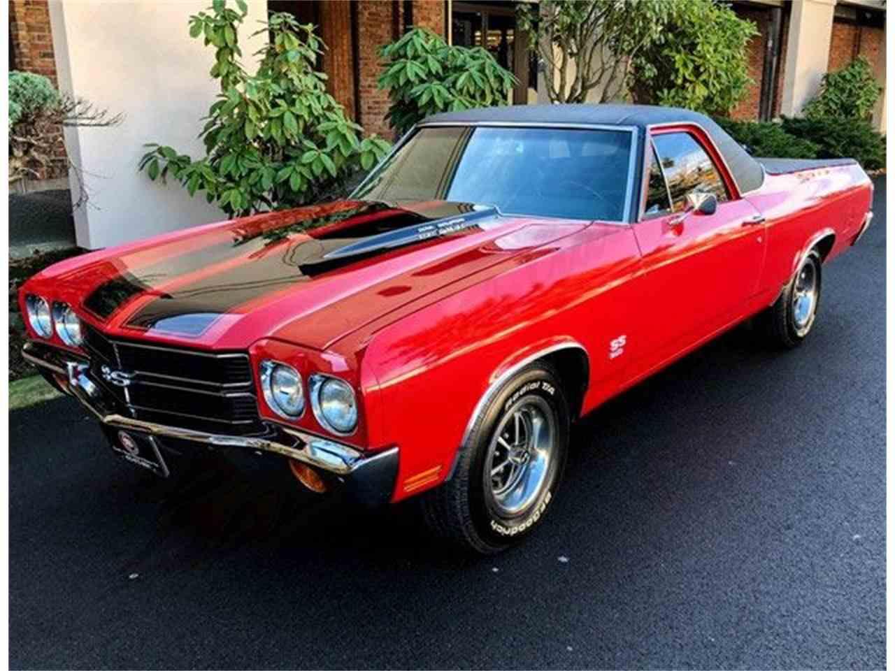 1970 Chevrolet El Camino Ss For Sale Classiccars Com