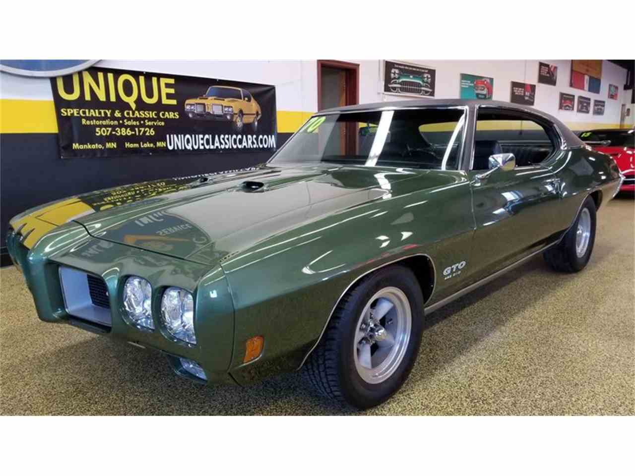 1970 Pontiac GTO for Sale   ClassicCars.com   CC-1052765