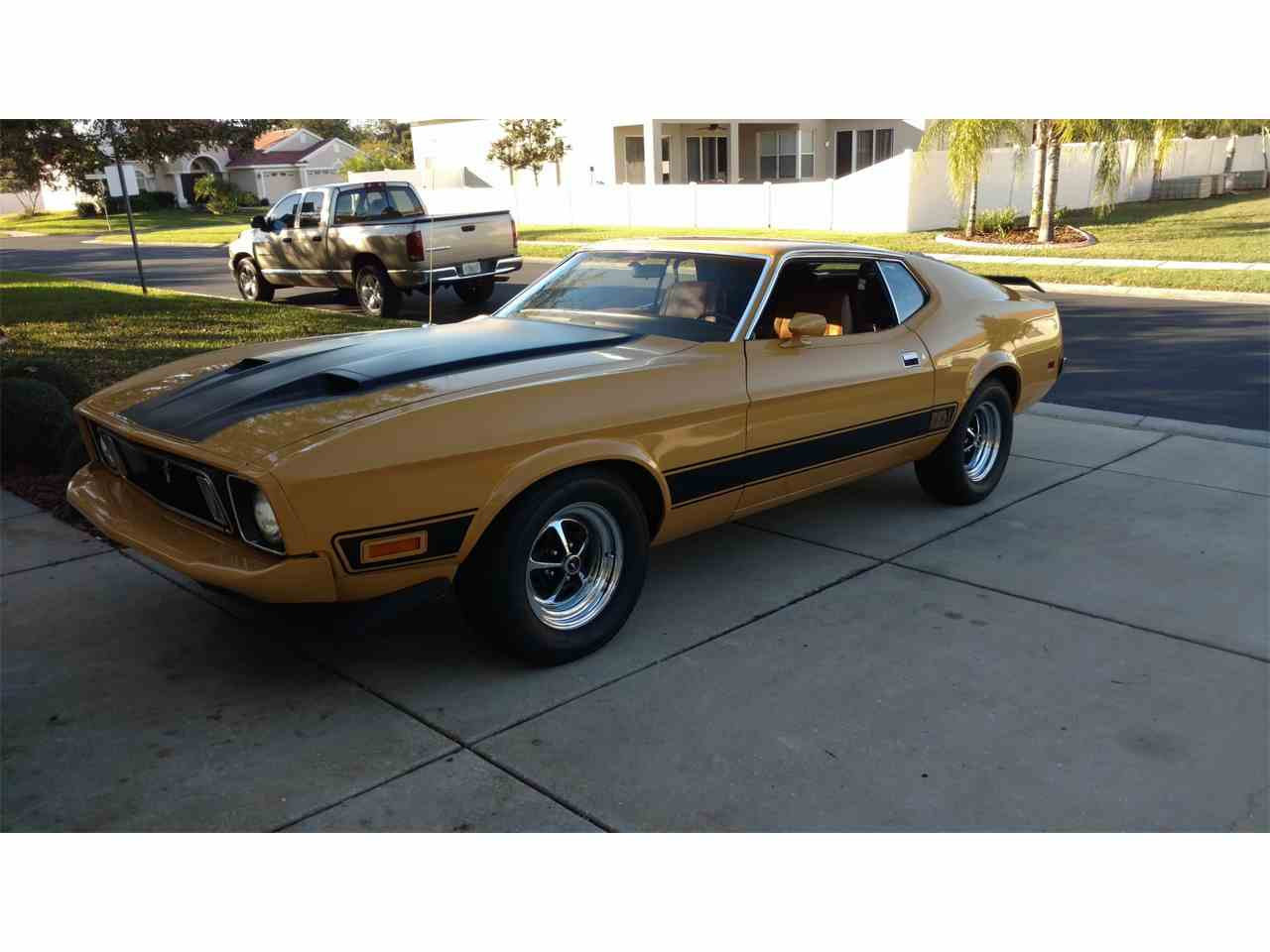 Picture Of 73 Mustang Mach 1