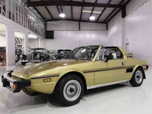 Classic fiat x1 9 for sale on for Garage fiat coignieres 78