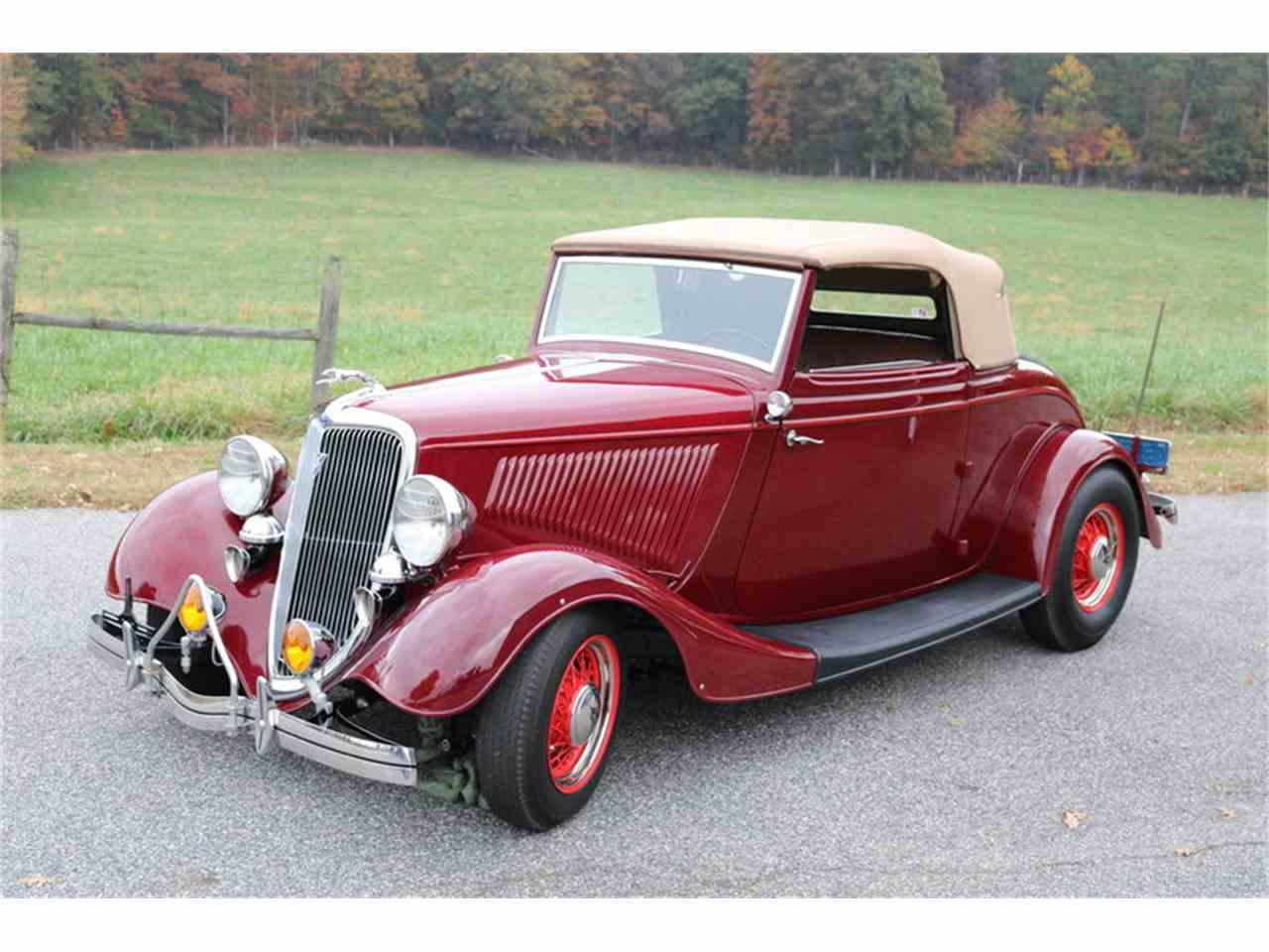 1934 Ford Cabriolet for Sale | ClassicCars.com | CC-1053438