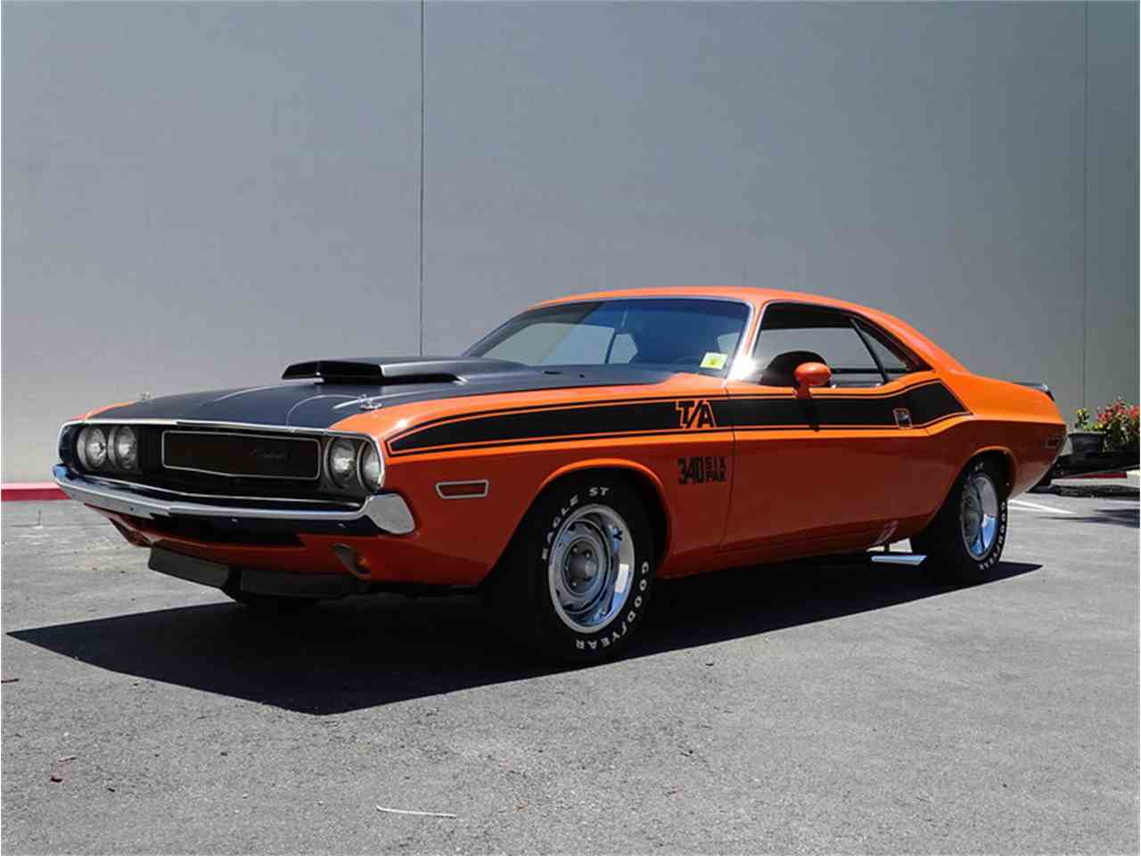 1970 dodge challenger t a for sale cc 1053458. Black Bedroom Furniture Sets. Home Design Ideas