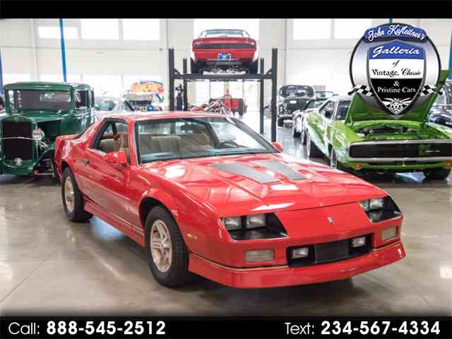 Picture of 1989 Camaro located in Ohio Offered by John Kufleitner's Galleria - MIGO