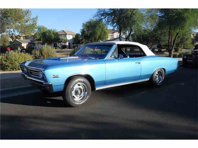 Picture of '67 Chevrolet Chevelle SS located in Scottsdale ARIZONA Auction Vehicle Offered by Barrett-Jackson Auctions - MI7Q