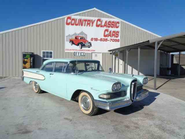 Picture of Classic '58 Edsel Ranger located in Staunton Illinois Offered by Country Classic Cars - MLG4