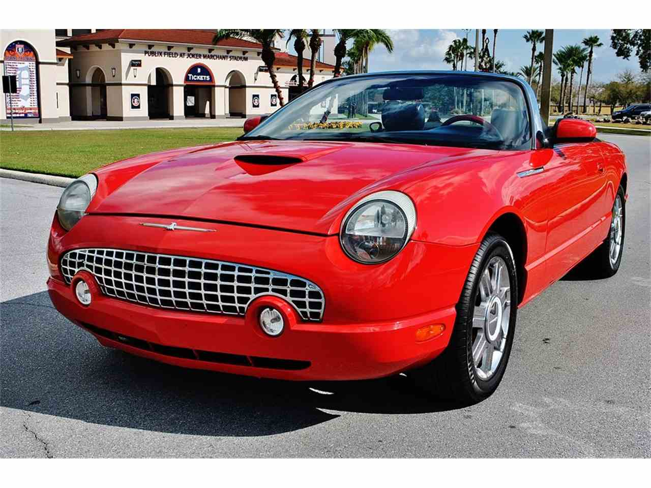 2005 ford thunderbird for sale classiccars cc 1054291 large picture of 05 thunderbird mlhv sciox Image collections