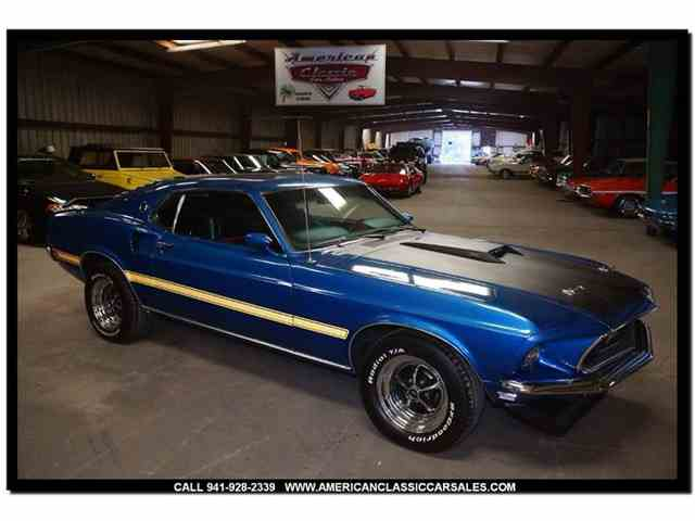 Picture of 1969 Mustang located in Sarasota Florida - $49,900.00 Offered by American Classic Car Sales - MLKU