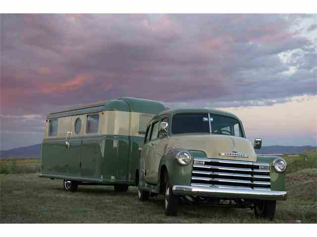 Picture of '52 Suburban Sold with 1948 Palace Royale Trailer - MLQU