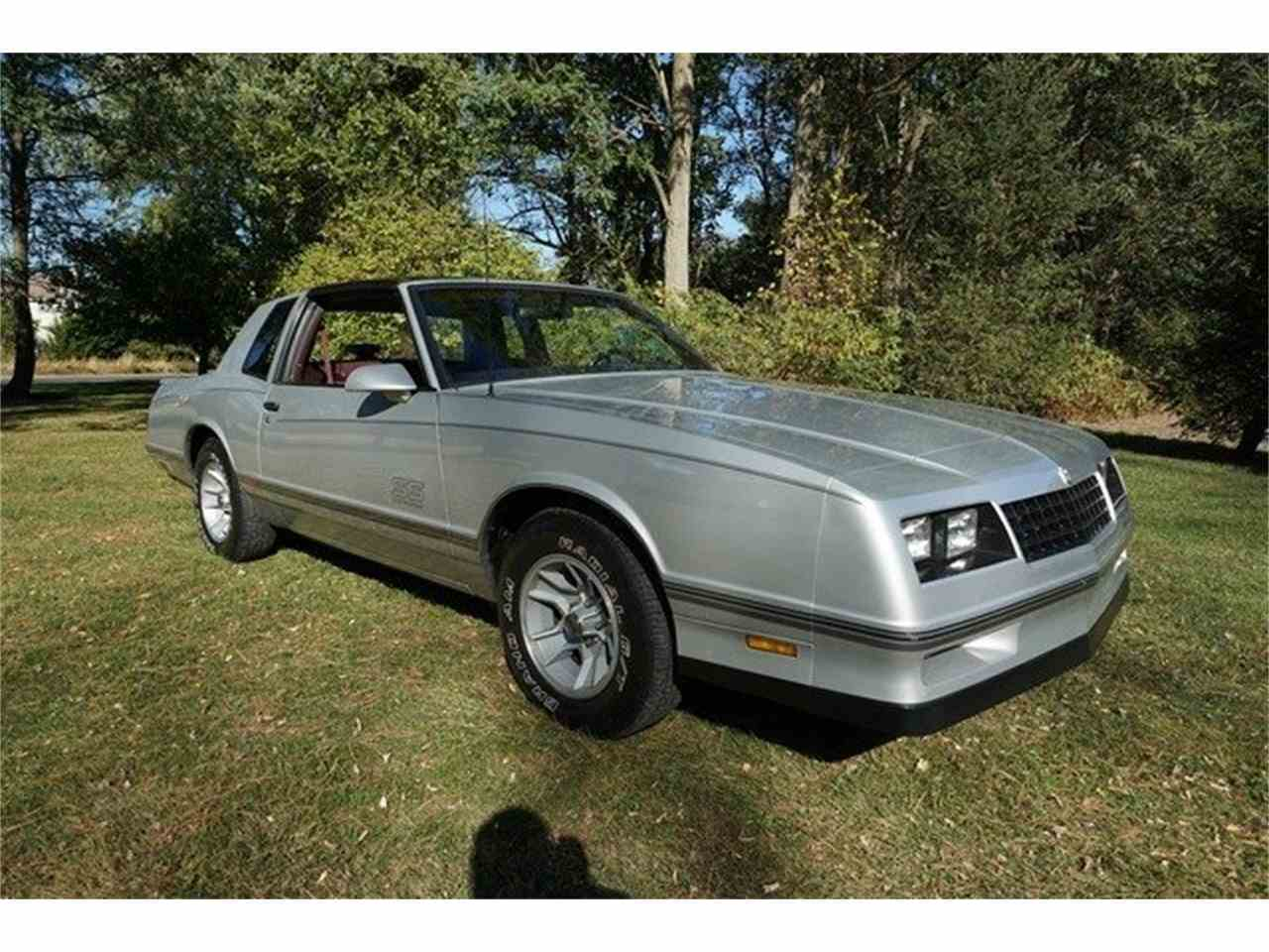 1987 chevrolet monte carlo ss for sale cc 1050484. Black Bedroom Furniture Sets. Home Design Ideas