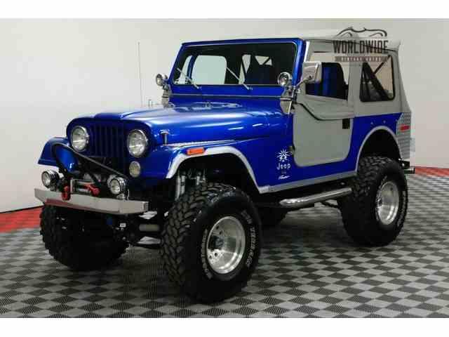 classic jeep cj7 for sale on. Black Bedroom Furniture Sets. Home Design Ideas