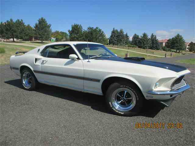 "Picture of '69 Mustang Mach 1 ""R"" Code - MMHV"