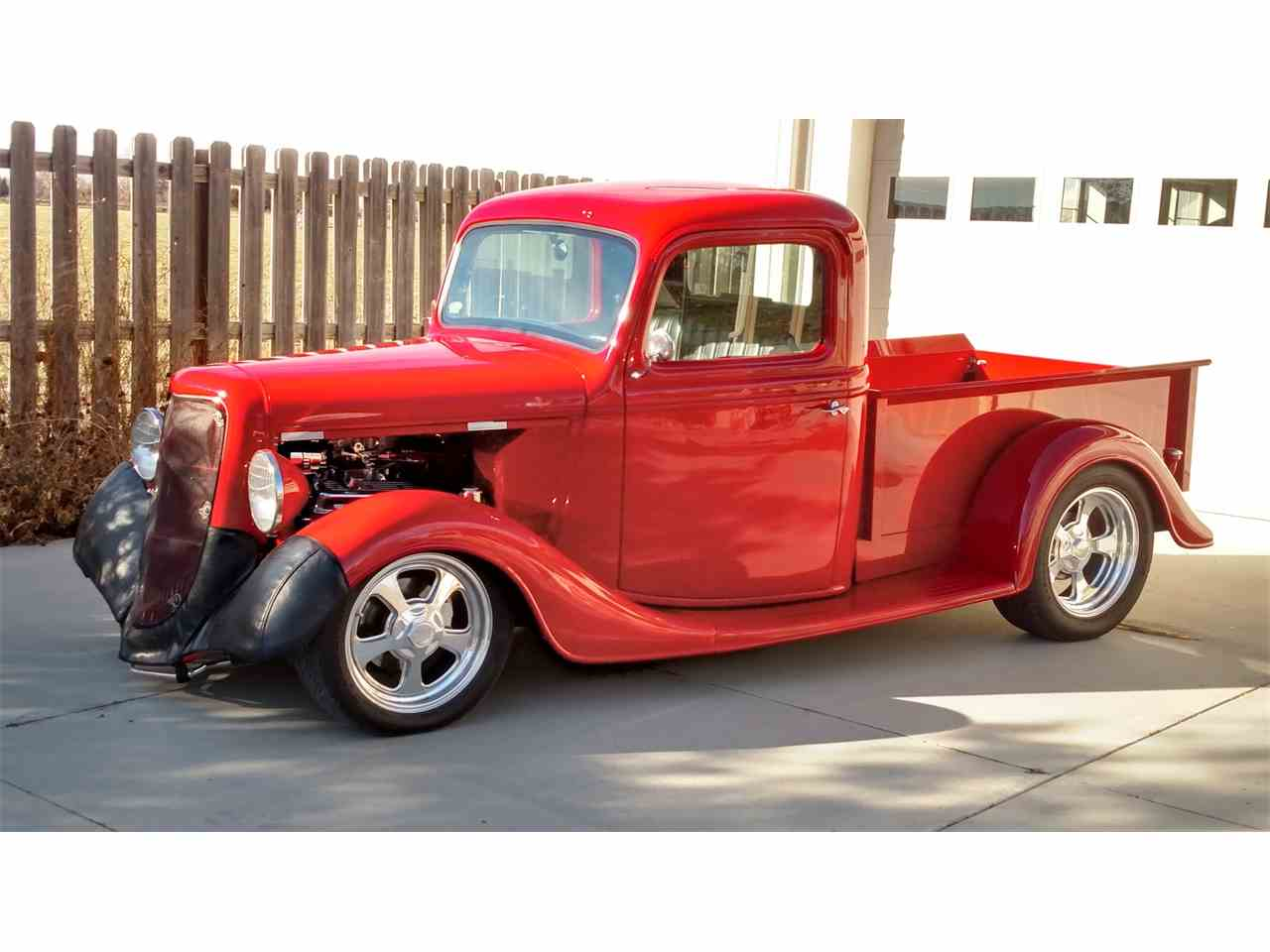 1935 ford pickup for sale cc 1055588. Black Bedroom Furniture Sets. Home Design Ideas