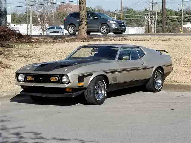 Picture of '71 Mustang Mach 1 Drag Pack - MMJ6