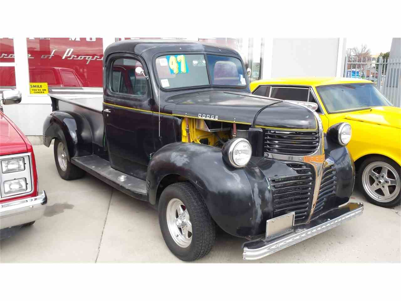 1947 dodge pickup for sale cc 1055866. Black Bedroom Furniture Sets. Home Design Ideas