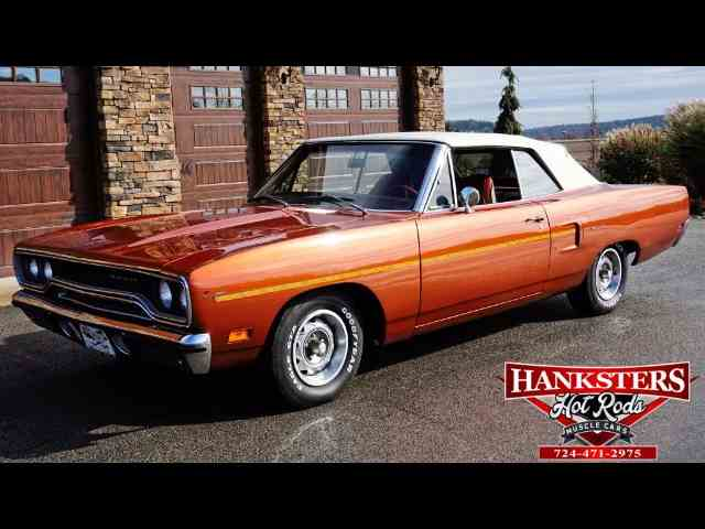 Picture of '70 Plymouth Road Runner located in Pennsylvania Offered by Hanksters Muscle Cars - MIN3