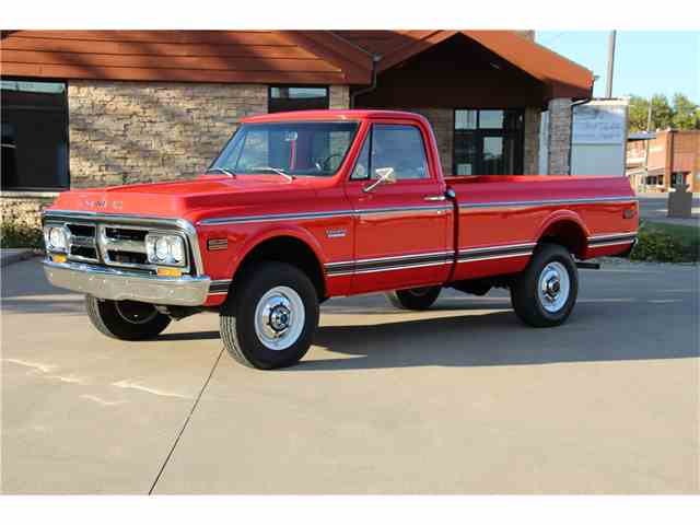 Picture of 1971 GMC K-20 Offered by Barrett-Jackson Auctions - MIN9