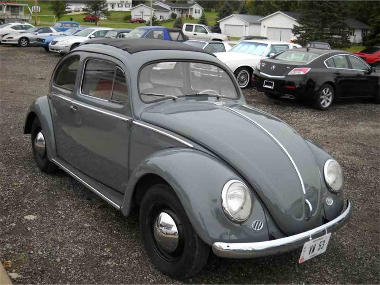1953 volkswagen beetle for sale cc 1056068. Black Bedroom Furniture Sets. Home Design Ideas