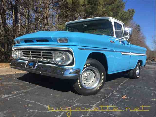 Picture of Classic '62 Chevrolet C10 located in Georgia - $32,999.00 Offered by Buyavette - MMYW