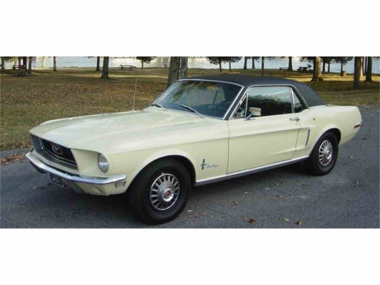 Large Picture of '68 Mustang - MNEO