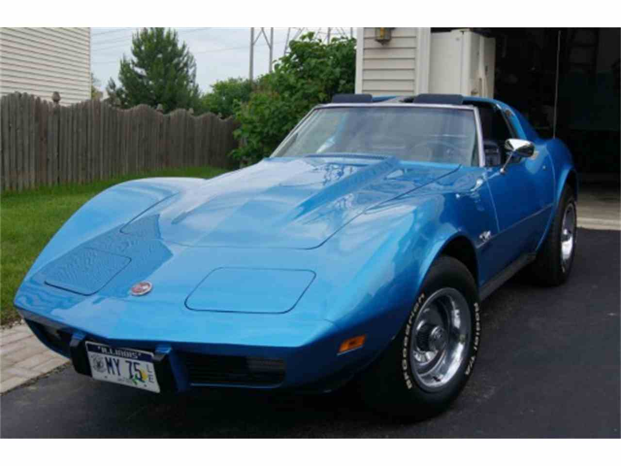Large Picture of '75 Corvette - MNJW