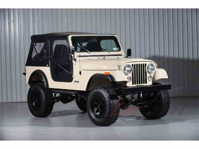Picture of 1985 CJ7 located in New Hyde Park New York - $34,995.00 Offered by LuxSport Motor Group, LLC - MNMV