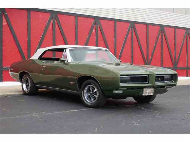 Picture of 1968 Pontiac GTO located in Mundelein ILLINOIS - $42,500.00 Offered by VICCI Car Auctions - MO0L