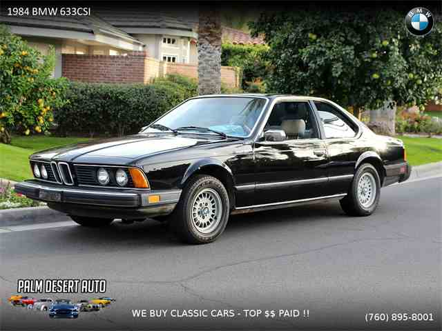 Picture of '84 633csi - MOI7