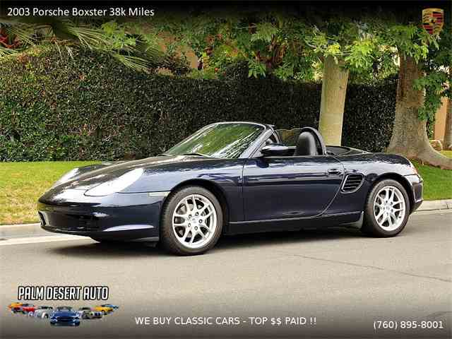 Picture of '03 Boxster - MOI8