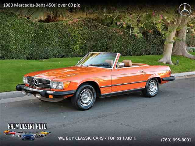 Picture of '80 450SL - MOIA
