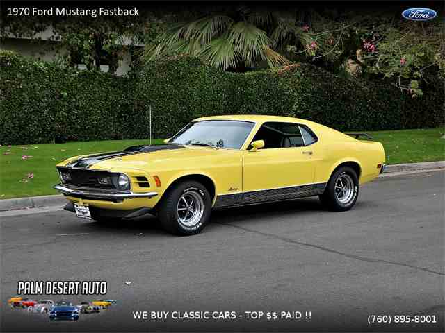 Picture of '70 Mustang Mach 1 - MOIG