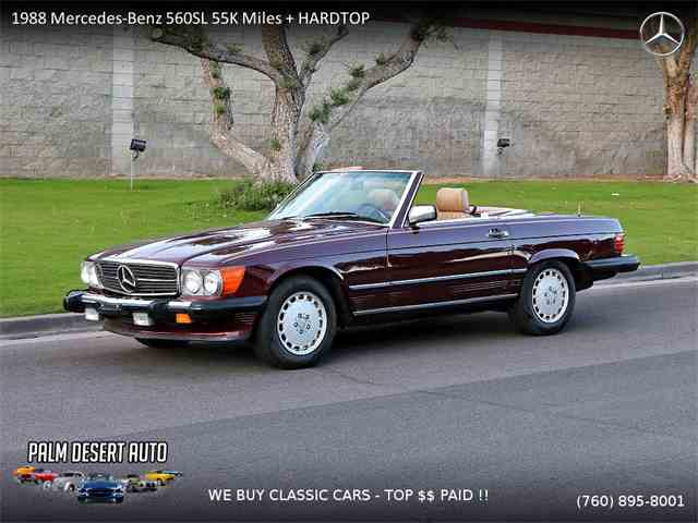 Picture of '88 560SL - MOIP