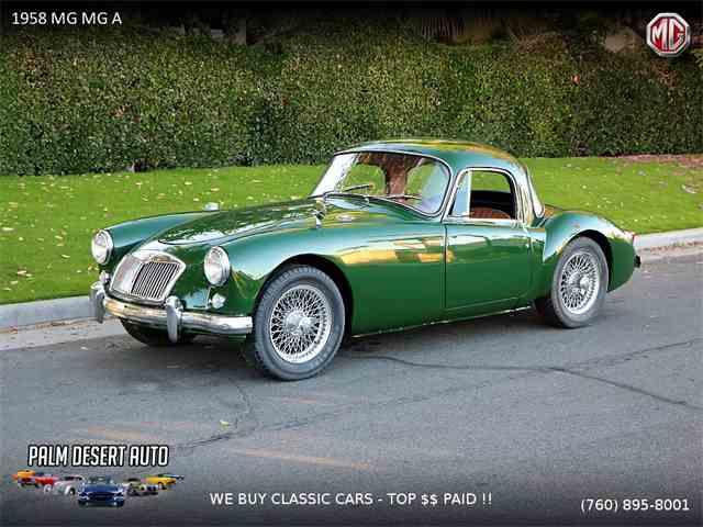 Picture of '58 MGA - MOIS