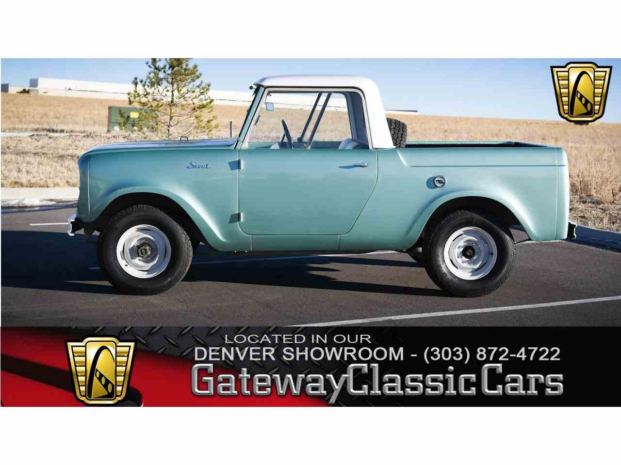 1962 International Harvester Scout for Sale | ClassicCars.com | CC ...