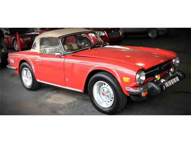 Picture of '76 TR6 - MOOD