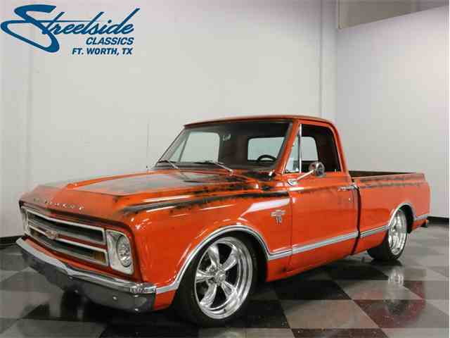 Picture of Classic 1967 Chevrolet C10 located in Texas - $39,995.00 Offered by Streetside Classics - Dallas / Fort Worth - MIUD