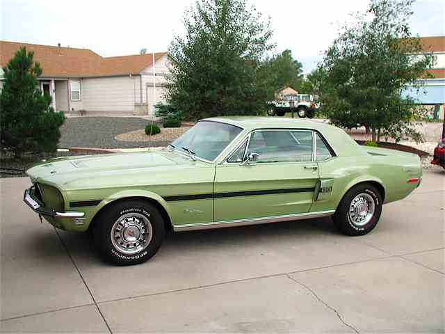 Picture of Classic '68 Ford Mustang GT/CS (California Special) located in Falcon COLORADO - MIVJ