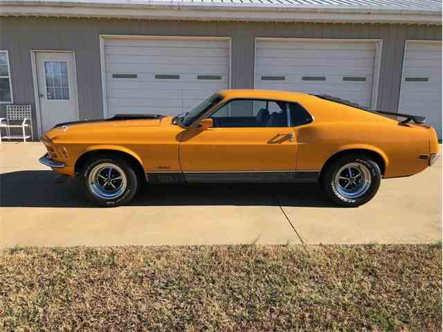 Picture of 1970 Ford Mustang located in NORTH CAROLINA Auction Vehicle Offered by GAA Classic Cars Auctions - MPT4