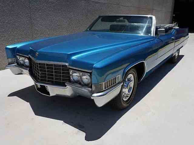 Picture of 1969 Cadillac DeVille Auction Vehicle Offered by European Autobody, Inc. - MQQC