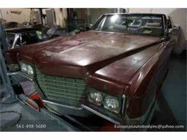 Picture of Classic 1969 Cadillac DeVille located in Florida Auction Vehicle - MQQD