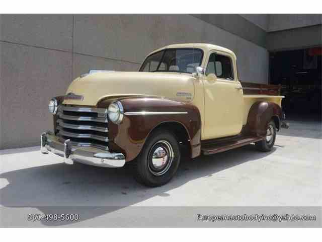 Picture of '51 Chevrolet 3100 located in Florida Offered by European Autobody, Inc. - MQQI