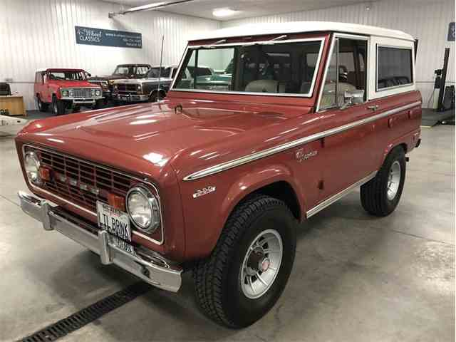 Picture Of Classic 69 Bronco Located In Michigan Offered By 4 Wheel Classics